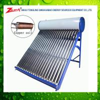 Suntask Pressure vacuum tube solar collector and solar water heater system