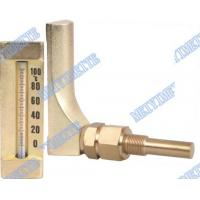 Buy cheap V Line Glass bimetallic thermometers Aluminum and gold colour body product