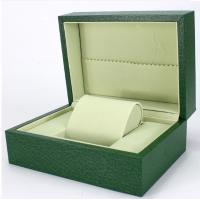 Buy cheap Green Paper Watch Box / Jewelry Wooden Box Packaging Eco-friendly product