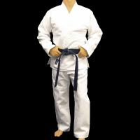 Buy quality Customized bamboo fabric Judo Uniform Martial Arts Clothes , White at wholesale prices