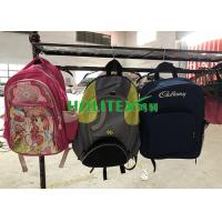 China Holitex Students Used School Bags Mixed Type Second Hand Travel Bags For Nigeria on sale