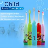Buy cheap Cartoon Children'S  Toothbrush Customized Color With 3 Brush Heads product