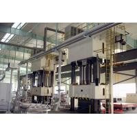 Buy cheap 800T Servo Hydraulic Molding Press For Plumbing Fixture Four Columns Frame product