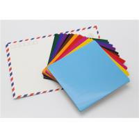 Buy cheap Handy Matt Gummed Paper Squares Assorted Colour For School Children Handwork product