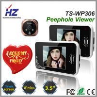 Buy cheap remote unlocking 3.5''touch screen high resolution 2.4GHz wireless door viewer peephole product