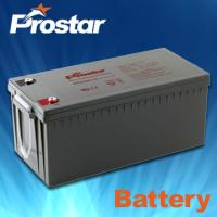 Buy cheap Prostar gel battery 12v 220ah product