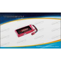 Buy quality High Rate Lithium Polymer RC Battery 7.4V 1500mAh 30C For RC Plane / Flight at wholesale prices