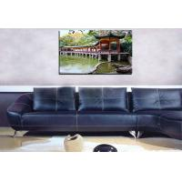 China Custom canvas picture nature scenery photo prints on canvas cheap for wall hanging on sale