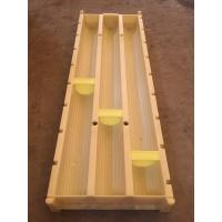 Buy cheap High Strength Core Box Marker , Yellow Core Tray Block For Separate Rock Core from wholesalers