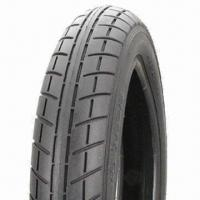 China 3.50-10 Scooter Tires with Hybrid Tread Design, Good Grip and High Strength Matrix on sale