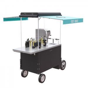 Buy cheap Integrated 220V Rear Wheel 350W Drink Bike Vending Cart product