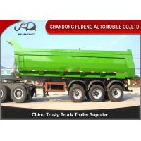 Buy cheap Tri Axle Heavy Duty Dump Semi TrailerFor Rock Sand And Coal Delivery product