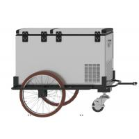 Buy cheap Three Wheels Scooter Cargo Trailer , 125L Mobile Cooler Trailer With 1 Year Warranty product