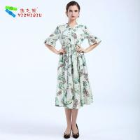 Buy cheap Largos Casual Long Cotton Summer Dresses None Decoration For Beach product
