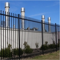 Buy cheap Security 1.5m 1.8m Steel Spear Top H Steel Picket Fence product