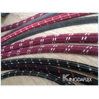 Cotton Outer Textile Braided Flexible Fuel Oil Resistant Rubber Hose