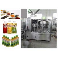 Buy cheap 6.68kw Standard 3-In-1 Monoblock Tea Filling Machine With Perfect CIP System product