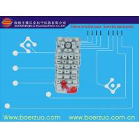Buy cheap Push Button Tactile Membrane Switch , Customizable Keypad With Poly Dome product