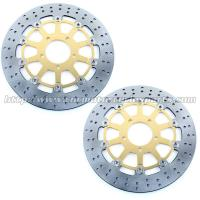China Front Round Motorcycle Brake Disc Rotor With Aluminum Alloy Stainless Steel on sale