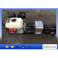 Buy cheap Steel Gas Engine Powered Winch 1 Ton With Axle Bar Driven Tranmission product