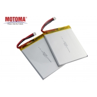 Buy cheap Rechargeable 2500mah Lithium Battery High Power 36*63*80mm For POS Terminals product