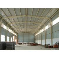 Buy cheap Light Prefab Steel Warehouse , Metal Frame Warehouse Q345B & Q235B Fabrication And Design product