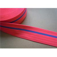Buy cheap Dying Heavy Duty Elastic Webbing For Furniture , Hammock Webbing Straps for garment product