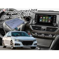 Buy cheap Car navigation box for Honda 10th Accord Offline navigation music video play from wholesalers