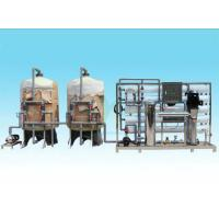 Buy cheap Customized Ion Exchange Water Treatment System 10T/H For Drinking Water / Beverage product