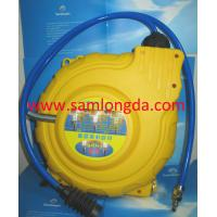 Buy cheap Automatic Retractable air hose reel, PP cover with 15m pvc air hose, max 15bar. product