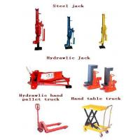 Buy quality hydraulic pallet hand truck, hydraulic jack,lift table at wholesale prices