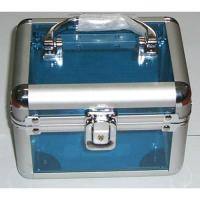 Buy cheap Cosmetic Case Cosmetic CaseHigh quality acrylic finish and construction withchrome plated plasticcorners Swivel handle top on the casesSecure easy closemetal lock with two keysCase size:175 x 140 x 140mm from wholesalers