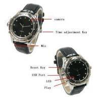 Spy Camcorder Watch with 300k Pixels Hidden Camera Manufactures