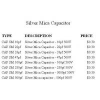 Buy cheap Silver Mica Capacitor Silver Mica cap Item:500V product