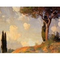 Buy cheap Impressionist(3830) A_Landscape_Study_at_San_Vigilio_Lake_of_Garda product