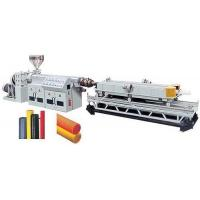 Buy cheap PVC/PE Single/Double Wall Corrugated Pipe Production Line product