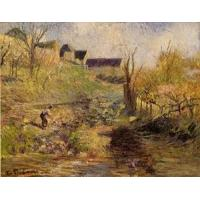 Impressionist(3830) Landscape_at_Osny