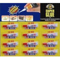 Buy cheap 502Strong glue sealant SP-1013 502 SUPER GLUE for Rubber, Plastic and General Use product