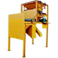 Two rolls dry type magnetic separator