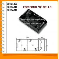 Buy quality UM2 or C Size Holders Four C Battery Holder(BH243) at wholesale prices