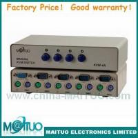 Buy quality KVM Switch Manual PS/2 or USB 2-16port MT-KVM4A at wholesale prices