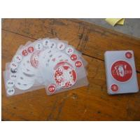 Buy cheap Plastic playing card Name:clear PVC card   Product Type:002   Standard:Content: hits:49   Post Date:2008-6-10 11:08:57 Buy product
