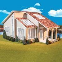 Real Good Toys Contemporary Ranch Dollhouse Kit