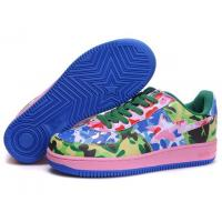 Bape Camouflage shoes red / green /blue