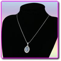 Buy quality Kyanite and Sterling Silver Pendant at wholesale prices