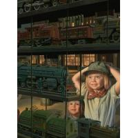 Buy quality The Train Shop Window at wholesale prices