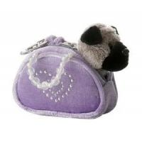Melissa and Doug Toys Aurora Mini Fancy Pals Pug, heart purse, beaded handles
