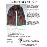 Buy cheap Needle Felt Instructions for Silk Scarf, Hat or Purse product