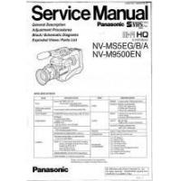 Buy quality Panasonic NV-M9500EN HI-FI HQ Camcorder Service Manual PDF at wholesale prices