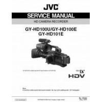 Buy quality JVC GY-HD100U GY-HD100E GY-HD101E HDV Mini DV HD CAMERA RECORDER SERVICE MANUAL PDF at wholesale prices